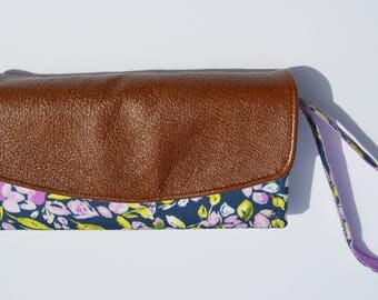 Floral Leather ~ Necessary Clutch Wallet