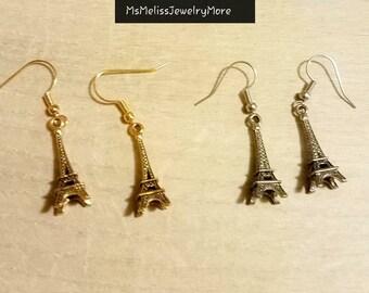 Paris Eiffel Tower earrings