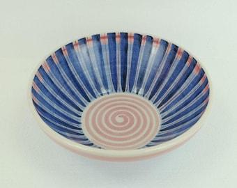 hedwig bollhagen BOWL stripes pink blue