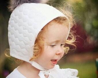 Baby Girls white flutter sleeved tops