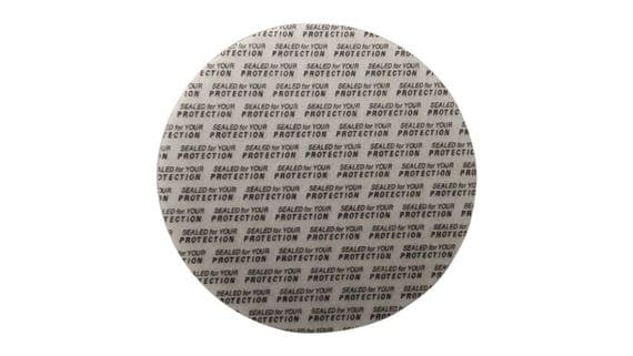 89 mm Pressure Sensitive PS Foam Cap Liners Seal Tamper Seal Sealed for your Protection US Seller