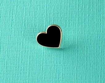 Heart Shaped Enamel Pin // Valentines/Galentines Gift // Love Pin Badge/Brooch // Collar Pins