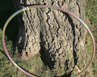 Color changing light reactive cat eye opal hoop!