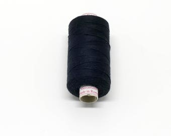 Valdani 60wt. Cotton Thread - #1 Black
