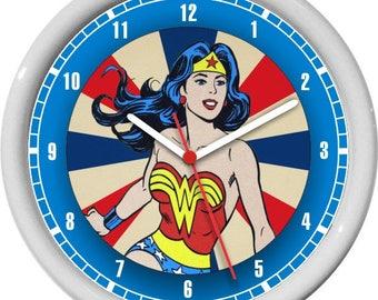 Wonder Woman Personalized Wall Clock