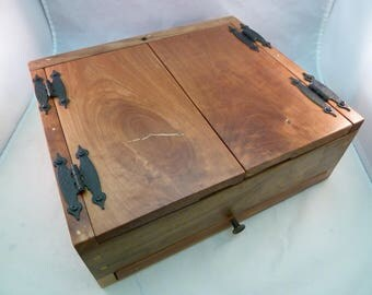 Handcrafted Guest Book in Keepsake Box Solid Wood for Wedding, Baby Shower, Quinceañera, Bar / Bat Mitzvah, Retirement Party