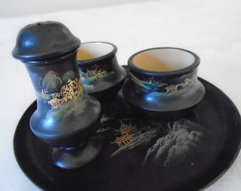 japanese  laquerware breakfast set