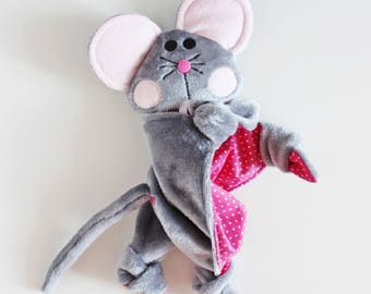 Toy mouse minkee and cotton. To order.