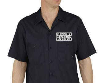 Support Local Music (Dickies Shirt)