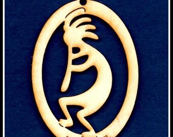 Kokopelli Ornament~ Wood~Personalized FREE