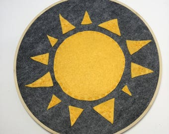 Sunshine Hoop Wall Art