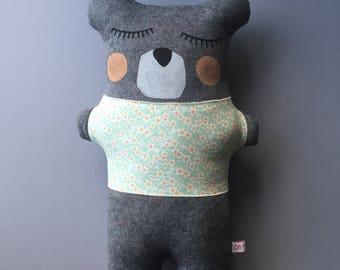 The Big Teddy Bear. Handmade