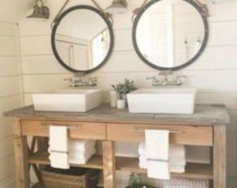 Bathroom Vanities Etsy bathroom vanity | etsy