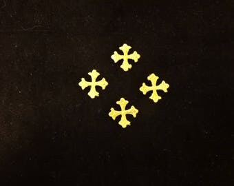 Small Gold Crosses - Lot of 24