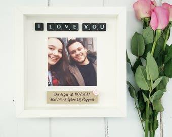 Boyfriend Gift/Valentines Gift/Gift for Him/Valentines Gift for Him/Husband Gift/Boyfriend Frame/Boyfriend Photo Frame/Girlfriend Gift