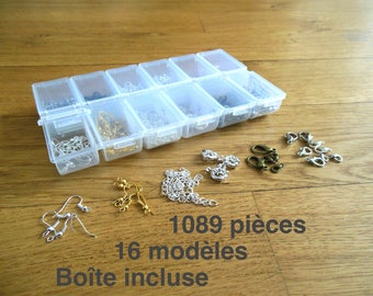 Box assortment finishes - 1089 pieces - box included
