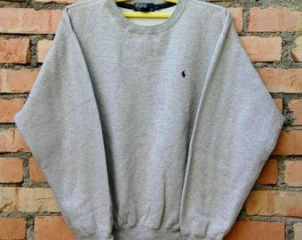 Rare!!! Polo Ralph Lauren Small Pony Pullover Large Size