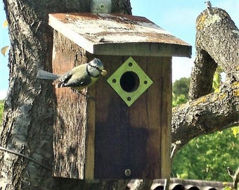 birdhouses for chickadees reclaimed wood
