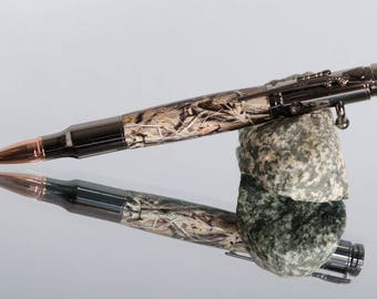 Bolt Action Ink Pens-Real Camo Pens-Acrylic Camo Pens-Writing Instruments-Gifts For The Hunter-Gifts for Him-Pens For Sale-Custom  Pens #259