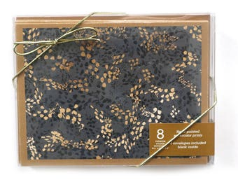 Notecards // Note Cards Boxed Notecards // Blank Notecards // Thank You Cards // Modern Notecards // Stationery // Leopard