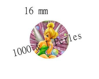 Resin cabochon 16mm Tinker Bell
