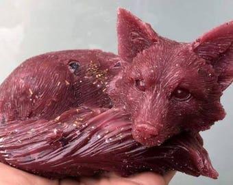 Fox Amethyst Orgone