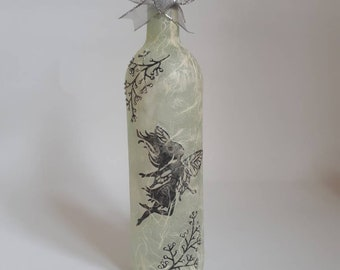 Decorative bottle with fairy