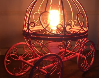 Princess accent lamp