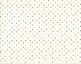 Moda Essentially Yours white multi Moda Dots