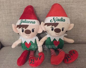 Christmas Personalized Elves with Names, Great Christmas Stocking Stuffers
