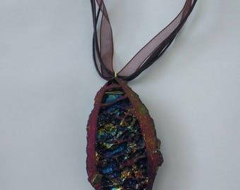 Large Titanium Coated Necklace.