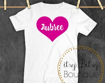 Personalized Valentine's Tees