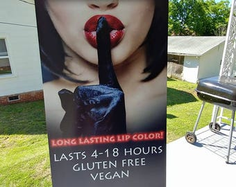 Long Lasting Lipstick Banner