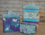 Nantucket Hydrangea handmade soap