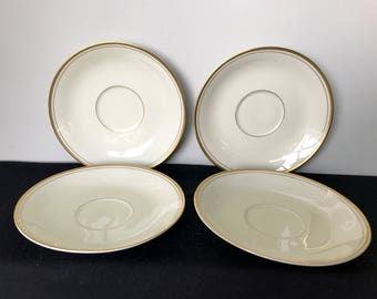 Fitz & Floyd Palais Cream Soup Bowl Saucer - 4 Available!!
