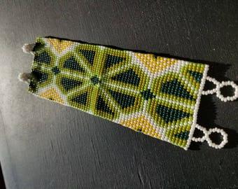 Huichol Peyote Bracelet