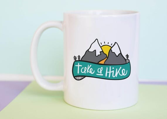 Take A Hike Coffee Mug with gift box