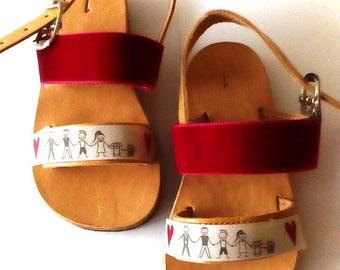 handmade leather sandals, baby girl shoes, barefoot sandals for babies, barefoot sandals baby, baby girl summer outfit, slip on sandals,kids