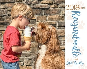 2018 Reagandoodle and Little Buddy Calendar
