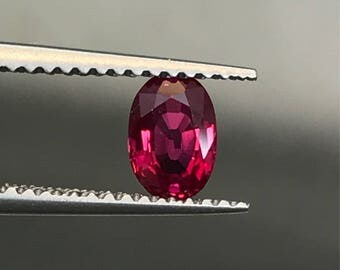 Natural Ruby. Heat only, no glass!