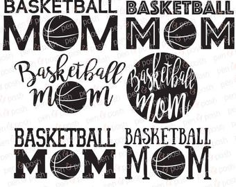 Svg - Basketball Mom SVG - Basketball Svg - Basketball Mom Clipart - Basketball Mom Svg -  Basketball Mom Cut File Bundle