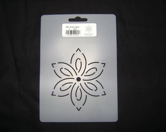 Sashiko Japanese Quilting/Embroidery Stencil 4 in. Flower Motif Block /Quilting/260
