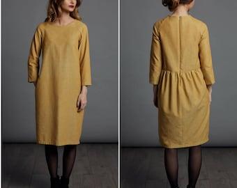 The Gathered Dress - Adult PDF sewing pattern