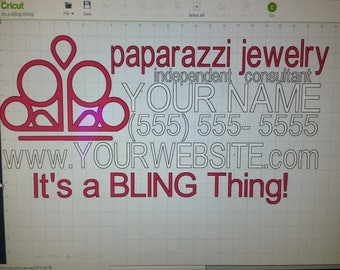 It's a Bling Thing! Paparazzi Jewelry car decal