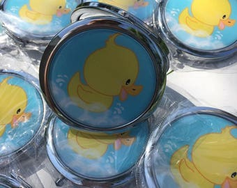 Baby  shower boy or girl Mirrors  favor by dozen (12 pieces).