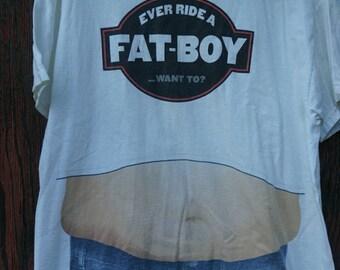 Ever Ride a Fat Boy?? Mens XL