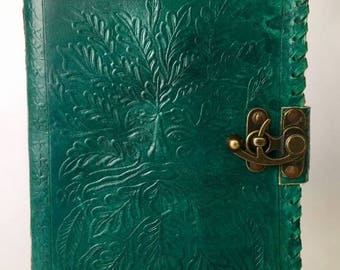 Leather Journal, Tree of Life Journal, Leather notebook, Blank Leather Notebook