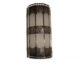 Oriental Wall lamp Arabic luminaire decoration Iron Glass