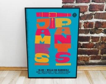 James Pants Poster