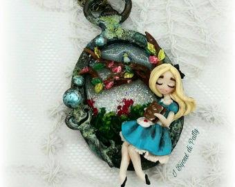 Collana con cammeo Alice